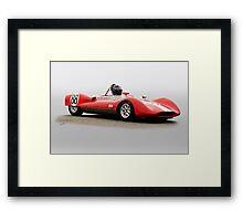 1961 Huffaker Genie 88 Vintage Racecar Framed Print