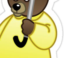Rain Bear Sticker