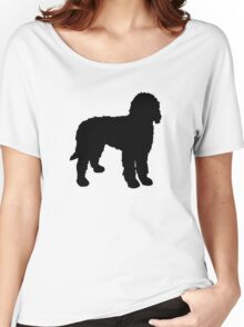 Labradoodle Silhouette Women's Relaxed Fit T-Shirt