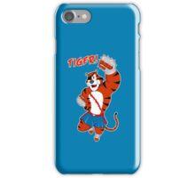 Tiger uppercut! iPhone Case/Skin