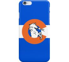 Denver Colorado Flag iPhone Case/Skin
