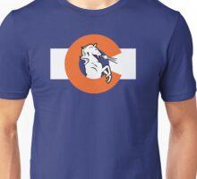 Denver Colorado Flag Unisex T-Shirt