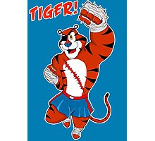 Tiger uppercut! Photographic Print