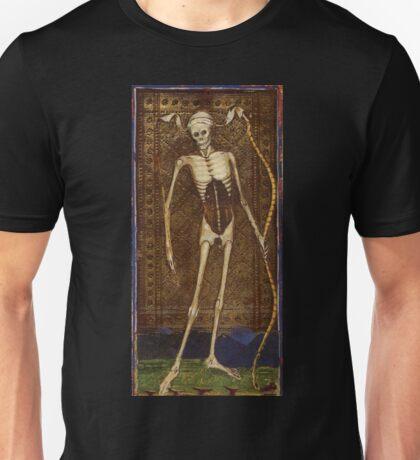 Medieval Death Illustration Unisex T-Shirt