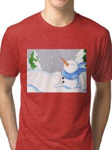 Blizzard Bliss Tri-blend T-Shirt