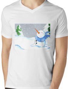 Blizzard Bliss Mens V-Neck T-Shirt