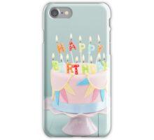 Birthday cake iPhone Case/Skin