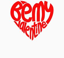 BE MY VALENTINE HEART Women's Fitted Scoop T-Shirt
