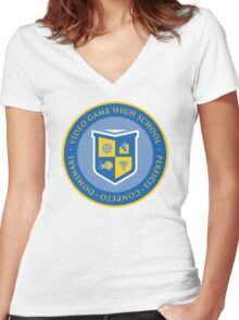 VGHS Women's Fitted V-Neck T-Shirt