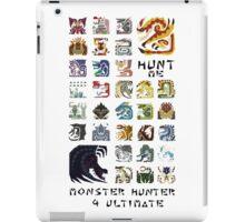 Monster Hunter 4 Ultimate 'Hunt Me' Design iPad Case/Skin