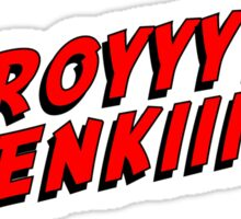 Leeroy Jenkins RED gamer talk Sticker