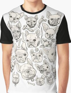 FRENCHIE FEVER Graphic T-Shirt