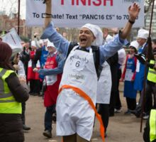Clive Lewis MP wins the Rehab Parliamentary Pancake Race 2016 Sticker