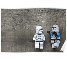 Stormtrooper Lego Poster
