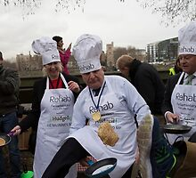 Stephen Pound Mp Rehab Parliamentary Pancake Race 2016, by Keith Larby