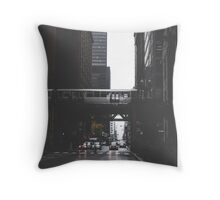 Chicago L #1 Throw Pillow
