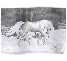 Frost .. the Winter Unicorn Poster