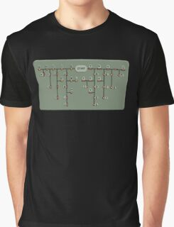 Morse code decoder Graphic T-Shirt