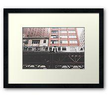 Chicago L #2 Framed Print