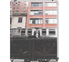 Chicago L #2 iPad Case/Skin