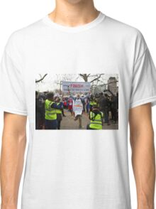 Clive Lewis Mp wins the Rehab Parliamentary Pancake Race 2016 Classic T-Shirt