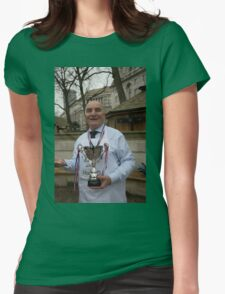 Stephen Pound Mp Rehab Parliamentary Pancake Race 2016 Womens Fitted T-Shirt