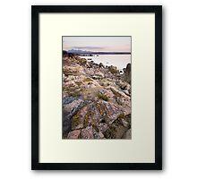 Gairloch evening light Framed Print