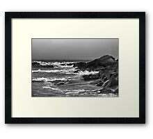 Rough Waters Framed Print