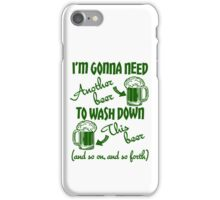 St Patricks Day Beer Drinking Humor iPhone Case/Skin