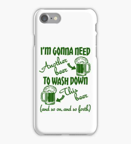 St Patricks Day Beer Drinking Humor iPhone Case/Skin