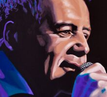 Jim Kerr of The Simple Minds Painting Sticker
