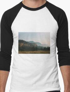 Glacier Natl Park #3 Men's Baseball ¾ T-Shirt
