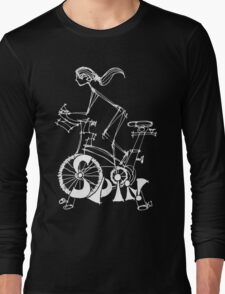 Spin, Spinning, Spin Class, Cycle Long Sleeve T-Shirt