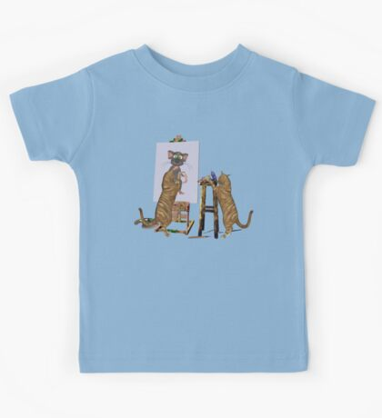 The Artists at Work Kids Tee