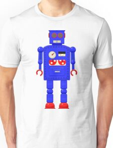 Retro vintage toy robot  Unisex T-Shirt