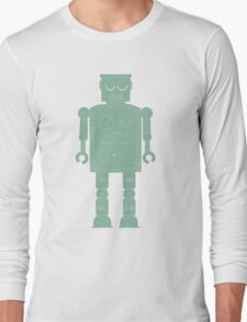 Retro vintage toy robot  Long Sleeve T-Shirt