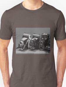 Vintage cameras photography design T-Shirt