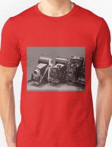 Vintage cameras photography design Unisex T-Shirt