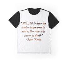 Bright Star- John Keats Graphic T-Shirt