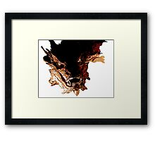 Smaug the Terrible Framed Print
