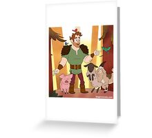 Willis the Brute Greeting Card