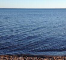 Lake Superior Sand Beach Sticker