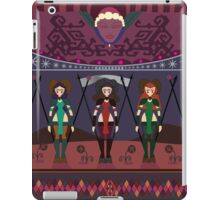 Marsian Squadron Tapestry 01 iPad Case/Skin