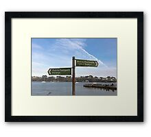 A Nice Place To Live Framed Print