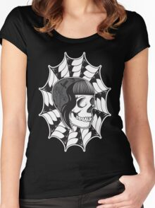 Sweetheart (Black) Women's Fitted Scoop T-Shirt