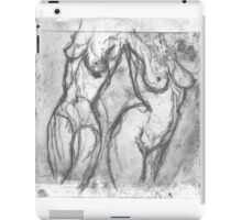 CONTINUITY OF THE HUMAN FORM iPad Case/Skin