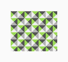 Lime Grey White Triangle Geometric pattern Classic T-Shirt