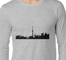 Toronto Skyline Shirt Long Sleeve T-Shirt