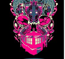 Doctor who tardis design by Ben Saunt