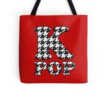 KPOP - BLACK HOUNDSTOOTH Tote Bag